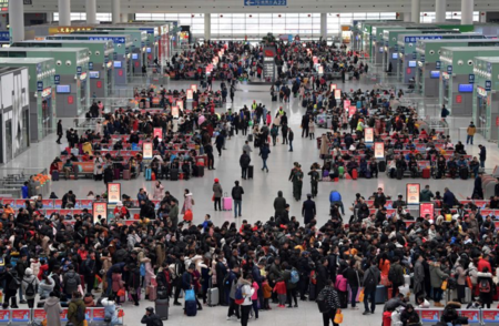 Over 300 Mln Train Tickets Sold for Spring Festival Travel R